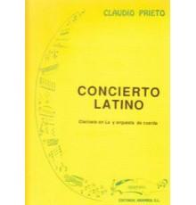 Concierto Latino/ Full Score A-4