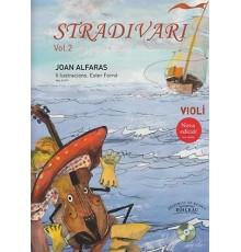 Stradivari Violí Vol.2 Catalán   CD