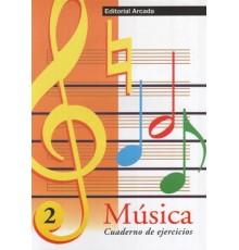 Cuaderno de Música Vol. 02 Ejercicios
