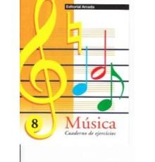 Cuaderno de Música Vol. 08 Ejercicios