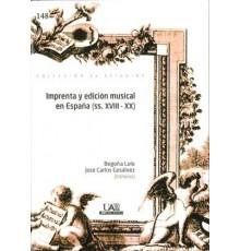 Imprenta y Edición Musical en España (SS