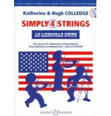 Simply Strings 4. An American Suite   CD