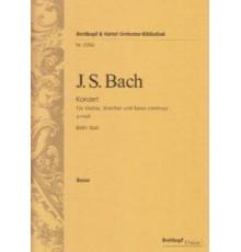 Konzert A moll BWV 1041/ Cello & Bass