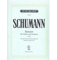 Konzert in A minor Op. 129 / Red. Pno.