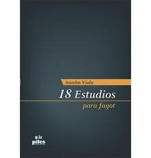 18 Estudios para Fagot