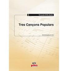 Tres Cançons Populars