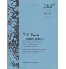Concertos a-moll BWV 1041.E-Dur BWV 1042