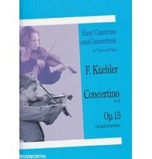 Concertino in D Op. 15