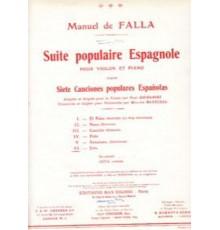 **Suite P. Española. Jota
