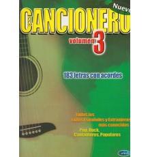Cancionero.Vol.3, 183 Letras Con Acordes