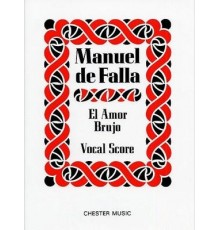El Amor Brujo (1925)/ Vocal Score