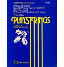 Playstrings Moderately Easy Nº 16 Parts