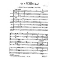 For a Summer?s Day/ Full Score