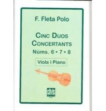 Cinc Duos Concertants Nº 6, 7 ,8