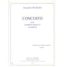 Concertopour Sax sop et Orchestra/ Red.