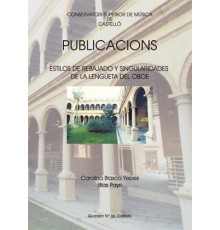 Publicacions Quadern Nº 36 Estilos de Re