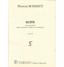 Suite en Trois Parties Op. 133/ Red.Pno.