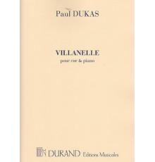 Villanelle/ Red.Pno.