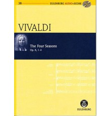 The Four Seasons Op. 8, 1-4   CD/ Study