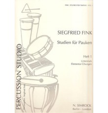 Studies for Timpani Vol. 1 (Pauken)