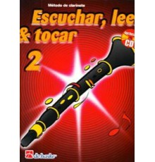 Escuchar, Leer & Tocar. Clarinete 2   CD
