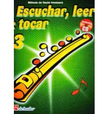 Escuchar, Leer & Tocar. Flauta 3   CD