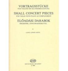 Small Concert Pieces Vol. 2