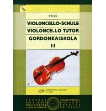 Violoncello Tutor. Vol. III Alumno/ Prof