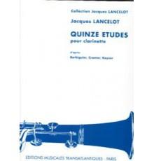 Quinze Etudes Pour Clarinete