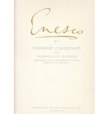Symphonie Concertante Op.8/ Red.Pno.