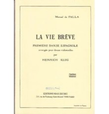 La Vida Breve/ Full Score (12 Cellos)