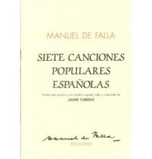 Siete Canciones Populares Españolas