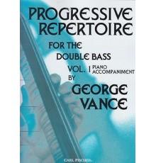 Progressive Repertoire Vol.1 Double Bass