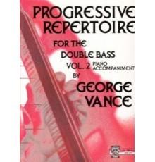 Progressive Repertoire Vol.2 Double Bass
