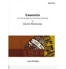 Concerto for Alto Saxophone/ Solo Part