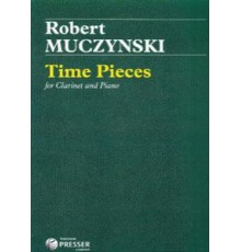 Time Pieces for Clarinet and Piano Op.43