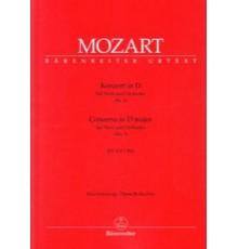Concerto in D Nº1 KV 412   514/ Red.Pno