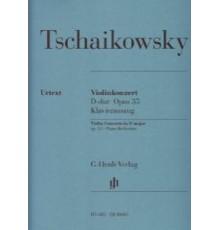 Violinkonzert D-Dur Op.35/ Red. Pno.