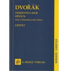 Terzetto in C Major Op. 74/ Study Score
