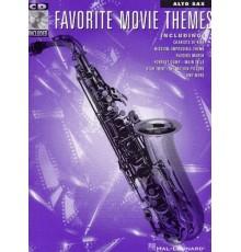 Favorite Movie Themes Alto Sax Book/