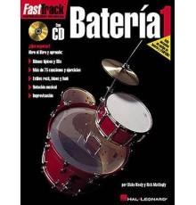 Fast Track Batería 1/ Book Online Audio