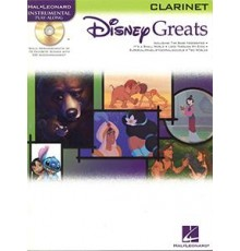 Disney Greats Clarinet/ Book   Online