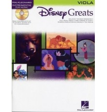 Disney Greats Viola   CD