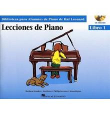Lecciones de Piano Libro 1/ Audio Acces