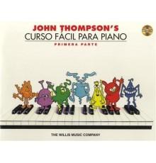 Curso de Piano Fácil 1ª Parte   CD