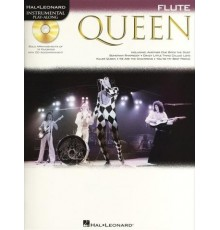 Instrumental Play-Along Queen Flute   CD