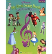 Disney My First Song Book. Piano Vol. 4