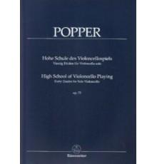 High School of Violoncello Op. 73