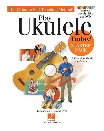 Play Ukulele Today! Starter Pack   DVD