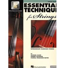 Essential  Technique Strings Violin 3